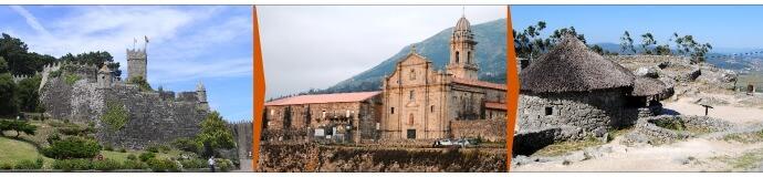 Baiona - Oia - Santa Tecla